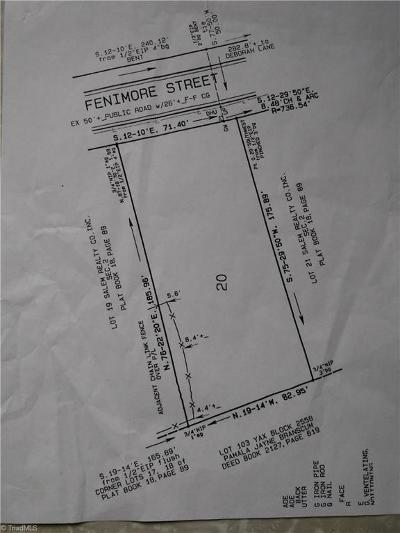 Winston Salem Residential Lots & Land For Sale: Fenimore Street