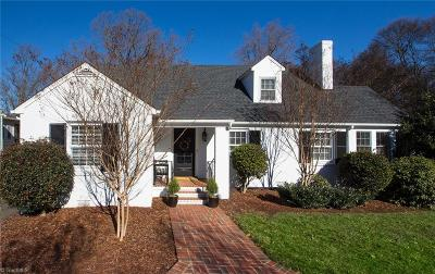 Winston Salem Single Family Home For Sale: 2645 Forest Drive