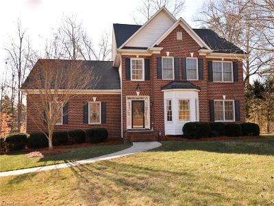Winston Salem Single Family Home For Sale: 5005 Haystack Hill Road