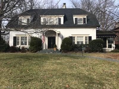 Guilford County Single Family Home For Sale: 410 Edgedale Drive