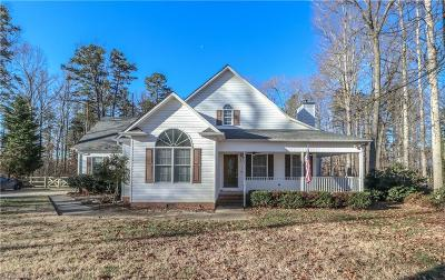 Guilford County Single Family Home For Sale: 3664 Old Julian Road