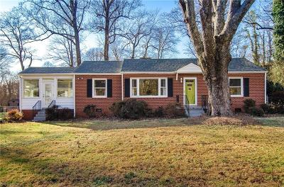 Guilford County Single Family Home For Sale: 1119 Rustic Road