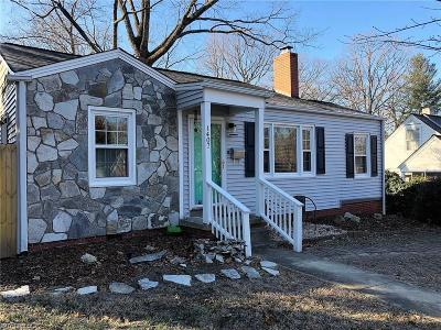 Greensboro NC Single Family Home For Sale: $162,500