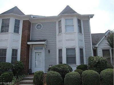 Guilford County Condo/Townhouse For Sale: 3243 Cypress Park Road #C