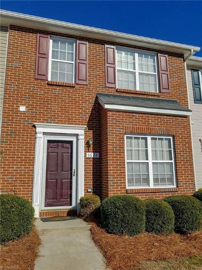 Winston Salem Condo/Townhouse For Sale: 1624 Olivers Crossing Circle