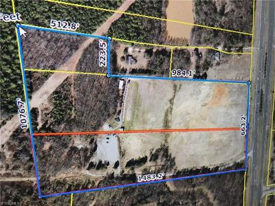Guilford County Commercial Lots & Land For Sale: 2831 Nc Highway 68