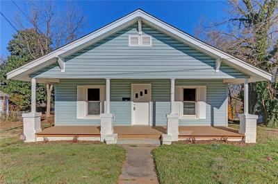 Alamance County Single Family Home For Sale: 627 New Street