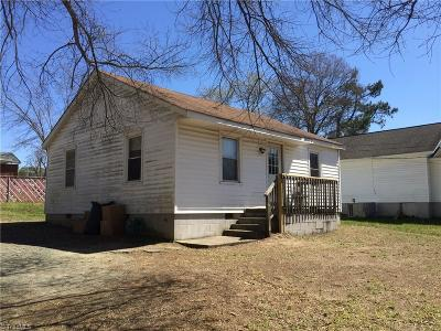 Alamance County Single Family Home For Sale: 629 Dailey Street