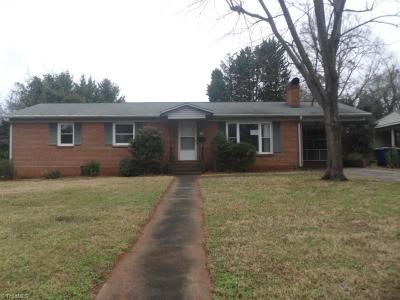 Winston Salem Single Family Home For Sale: 1334 Drumcliffe Road