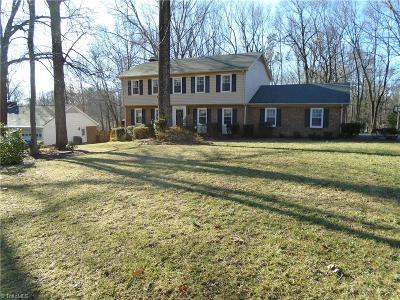 Reidsville Single Family Home For Sale: 1103 Cypress Drive