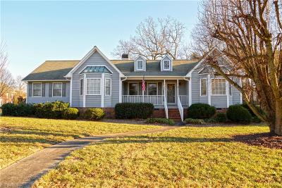 High Point Single Family Home For Sale: 1224 Elmwood Avenue