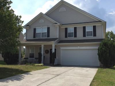 High Point NC Single Family Home Short Sale Contingent: $170,000