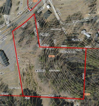 Winston Salem Residential Lots & Land For Sale: 3205 Ridgewood Road