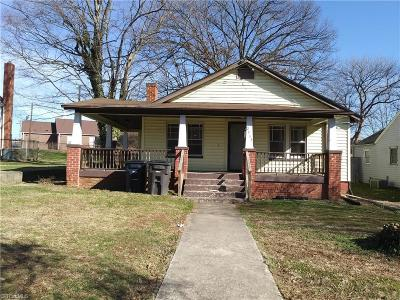 Winston Salem Single Family Home For Sale: 2933 Glenn Avenue
