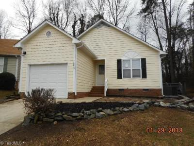 High Point NC Single Family Home For Sale: $130,990
