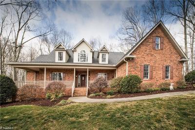 Mocksville Single Family Home For Sale: 244 Steeplechase Lane
