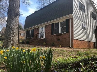 Greensboro Single Family Home For Sale: 1714 Aftonshire Drive