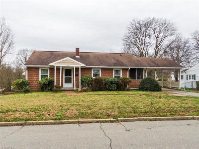 Winston Salem Single Family Home For Sale: 1622 Vogler Street