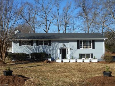 Greensboro Single Family Home For Sale: 1610 Brannock Drive