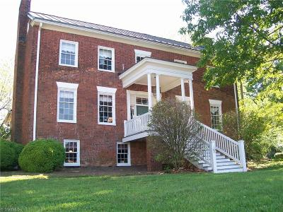 Rockingham County Single Family Home For Sale: 107 W Academy Street