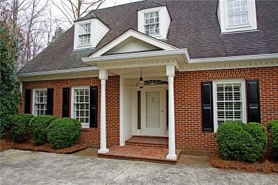 Greensboro Single Family Home For Sale: 9 Charleston Square