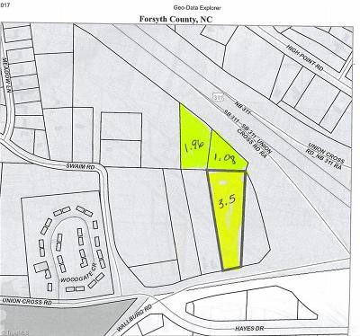 Winston Salem Residential Lots & Land For Sale: Union Cross Road
