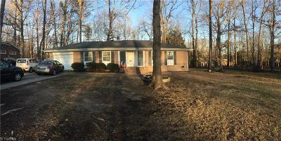 High Point Single Family Home For Sale: 3208 Woodview Drive