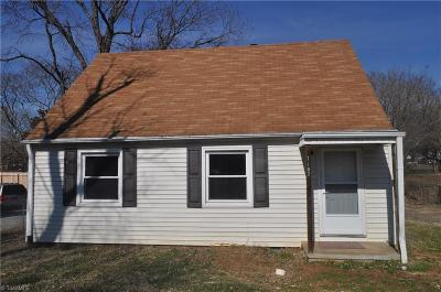 Winston Salem Single Family Home For Sale: 1107 Louise Road