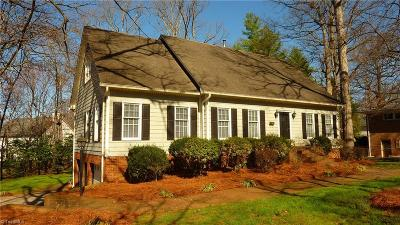 Winston Salem Single Family Home For Sale: 920 N Peace Haven Road