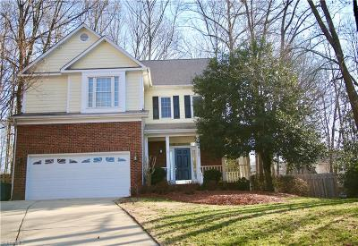 Greensboro Single Family Home For Sale: 4600 Norsaw Court