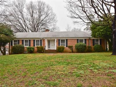 Greensboro Single Family Home For Sale: 703 Redbud Drive