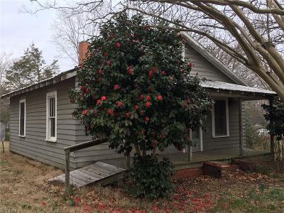 Asheboro Single Family Home For Sale: 1019 Northside Terrace