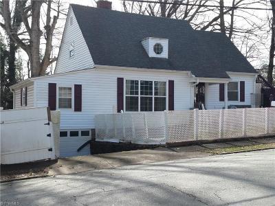 Winston Salem Single Family Home For Sale: 112 E 28th Street