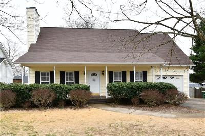 Clemmons Single Family Home Due Diligence Period: 135 Spring Park Court