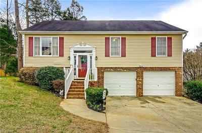 Winston Salem Single Family Home For Sale: 4521 Princess Drive