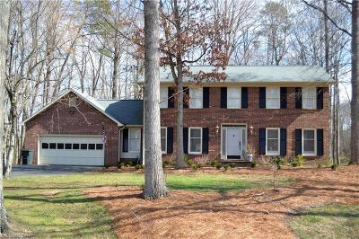 Kernersville Single Family Home For Sale: 1521 Creek Bed Road