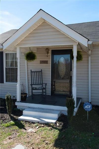 Winston Salem Single Family Home For Sale: 1547 Disher Road