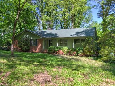 Greensboro Single Family Home For Sale: 1521 Trosper Road