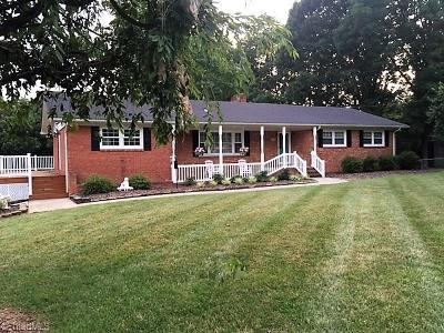 Reidsville NC Single Family Home For Sale: $169,900