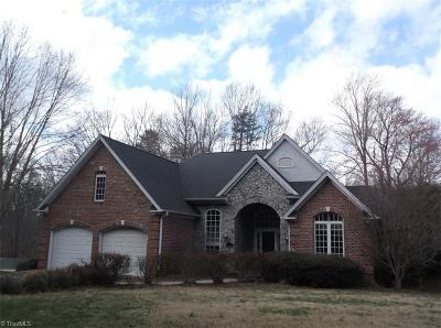 Reidsville Single Family Home For Sale: 200 Twin Lakes Drive