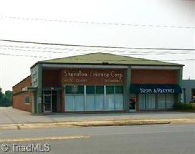 Asheboro Commercial For Sale: 314 N Fayetteville Street
