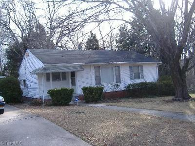 High Point Single Family Home For Sale: 1406 Wise Avenue