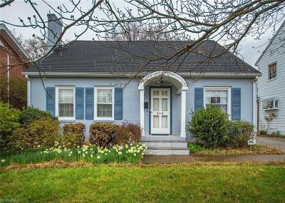 Winston Salem Single Family Home For Sale: 414 N Hawthorne Road
