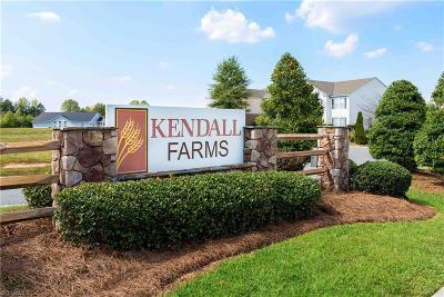 Winston Salem Single Family Home For Sale: 4238 Kendall Farms Way