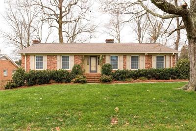 Greensboro Single Family Home For Sale: 2821 Lenoir Drive