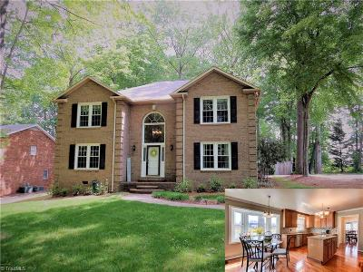 Clemmons Single Family Home For Sale: 4405 Hunters Run Drive