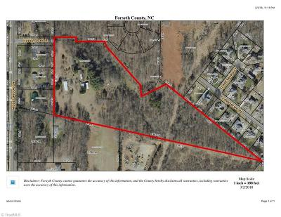 Clemmons Residential Lots & Land Due Diligence Period: 3115 Tudor Oak Drive