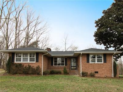 McLeansville Single Family Home For Sale: 1247 Rankin Mill Road