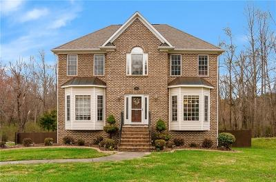 Kernersville Single Family Home For Sale: 1741 Tredegar Road