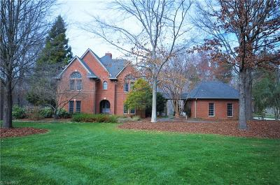 High Point NC Single Family Home For Sale: $849,500